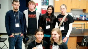 Some of the members of the Division C Science Olympiad teams from Putnam City  and Putnam City West High Schools that served as event Supervisor/ Judges for the 20 events that made up the Division A Tournament.