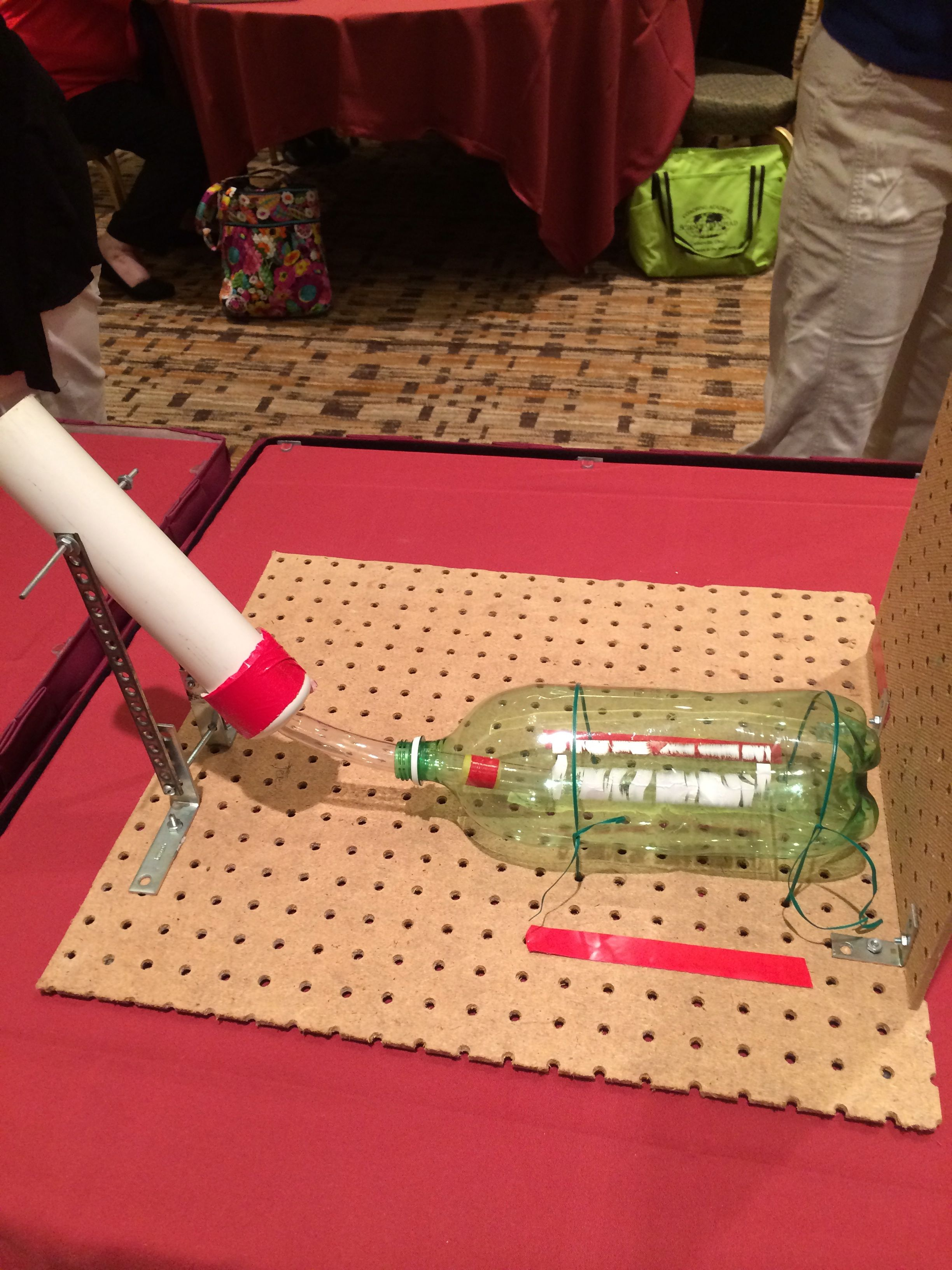An example of a launcher for Air Trajectory, a new B and C event.