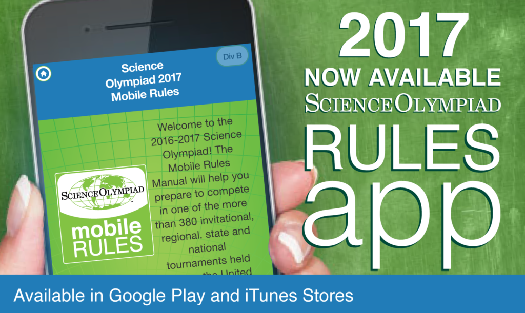 science olympiad 2017 rules manual
